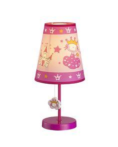 Princess & Castle Theme Table Lamp for Children's Room