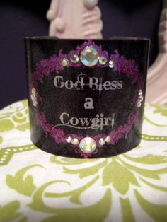 God Bless a Cowgirl Country Western Girl Redneck Girl by kiki6462, $22.00