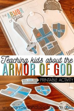Subjects and Predicates: Interactive Games for Introduction and The Armor of God can be a big subject to teach little ones. This printable activity will help make it more understandable and fun! Bible Lessons For Kids, Bible For Kids, Sunday School Lessons, Sunday School Crafts, Bible Activities, Activities For Kids, Armor Of God Lesson, Christian Soldiers, Subject And Predicate