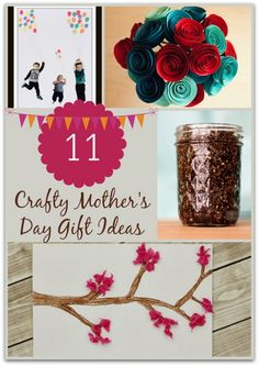 Still shopping for Mom? Be sure to check out these 11 Crafty Mother's Day Gift Ideas!