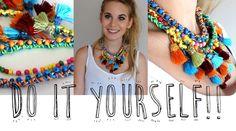 Haz tu propio collar de moda!!  /  Vikguirao
