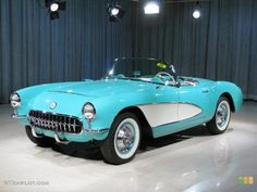 1957 - the 2nd corvette I will own, right after the '67.  The ultimate 50's 'vette will have to be either this color or gold/bronze/whatever they called it.  I believe this was the first fuel-injected car made in the U.S.
