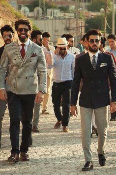 Sapeurs y Mr. Erbil, elegantes pobres | Vestirse por los pies