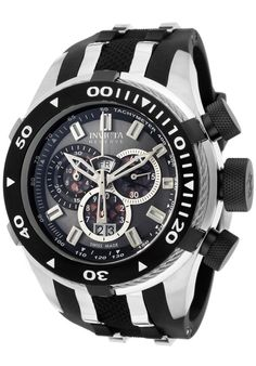 Price:$414.99 #watches Invicta 976, With a bold, masculine design, Invicta chronograph has a poised and calm ambience that's sure to have you looking twice.