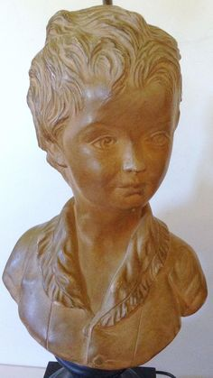 19C French terra cotta bust | Chairish
