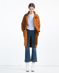 ZARA - NOUVELLE COLLECTION - PARKA LONGUE