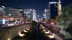 Cheongyecheon, Seoul Korea