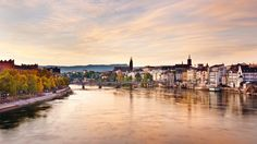 Basel, Switzerland. Located in the three-country corner of Switzerland, Germany, & France.