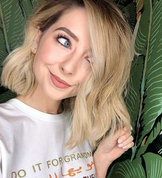 Zoe Sugg (Zoella) Short Hair - Samantha Cusick London