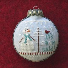 Willow Tree Stitcher: Ornament Tutorial