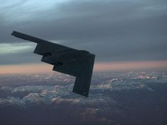 B-2 Spirit Stealth Bomber. Great picture.: