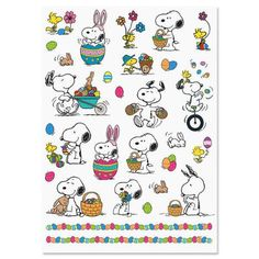 PEANUTS® Easter Stickers $3.99