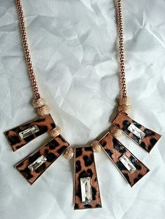 Leopar necklace