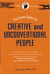 have this book around in a few years when Molly's beginning to think about what to study - The Career Guide for Creative and Unconventional People