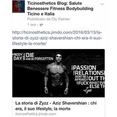 """Zyzz: la sua storia in italiano, chi era, la sua - Ricette Idee Bodybuilding, Fitness, Youtube, Instagram Posts, Movie Posters, Movies, Facebook, Film Poster, Films"