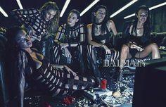 Balmain Spring/Summer 2015 Campaign / much