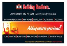 buildingbrothers.co.za  Site is Live, Check It Out!