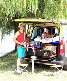 Malle Campi-Cuisine-car - Campinambulle