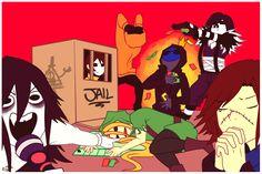 Masky D:     *E.J  +   L.J*  xD