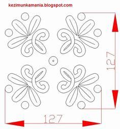 írásos terítő minta  AutoCad-ben készítettem Hungarian Embroidery, Autocad, Embroidery Patterns, Arts And Crafts, Tattoos, Folklore, Regional, Hungary, Design