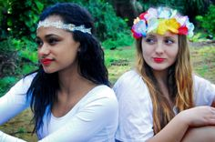 Best friends photo session with Asha & Hayley at Southlands, Bermuda.