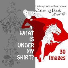 What is under my skirt by Basak Tinli by BasakTinli.deviantart.com on @DeviantArt