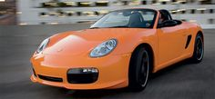 Porsche Boxster S limited edition in GT3 RS Orange