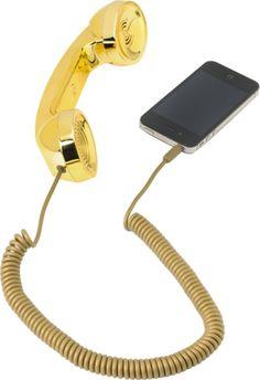 Native Union gold POP retro handset #zumiez