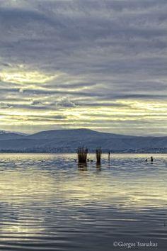 Ioannina's lake, Greece (13-1-13)