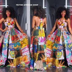 NOUVELLE robe de l'Afrique par THEAFRICANSHOP sur Etsy