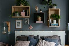 w tym pokoju dbamy o siebie - metamorfoza sypialni - mrspolkadot Kids Bedroom, Floating Shelves, Living Room, Interior Design, House, Home Decor, Bedroom Inspiration, Bedrooms, Kids Bedroom Ideas