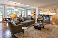 Before and After Photos of a Modernized 1970s New Jersey Colonial Home | Home Design Lover