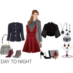 """""""Day & Night Simplicity"""" by betiboop8 on Polyvore"""