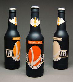 99 Bottles Branding by Casey Shannon, via Behance Pittsburgh Bars, Beer Store, Beer Bar, Bold Colors, Beer Bottle, Bottles, Behance, Branding, Packaging