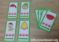 December Segmenting and Blending Point and Slide Cards