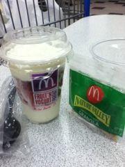McDonalds yogurt parfait is the best invention