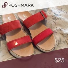 Anthropologie Dr Scolls Frills Platform Sandals 9 NEW without tags platform Sandals from Anthropologie. These are made my Dr Scholls. Super soft sole for comfort. Size 9. Anthropologie Shoes Sandals