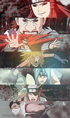 NARUTO SHIPPUDEN, Famade, Seven Ninja Swordsmen of the Mist, Ameyuri Rinko, Jinin Akebino, Fuguki Suikazan, Kushimaru Kuriarare, Mangetsu Hozuki, Jinpachi Munashi, Zabuza Momochi