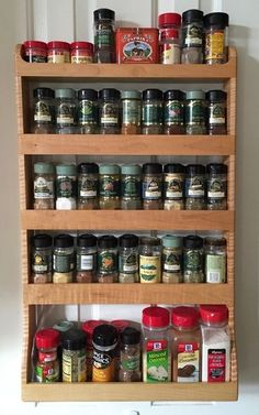 Spice Rack Plano 27 Spice Rack Ideas For Small Kitchen And Pantry  Pinterest  Door