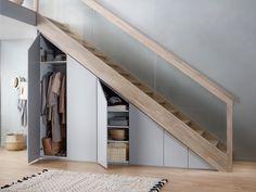 49 Ideas living room storage under tv under stairs for 2019 Understairs Storage Ideas Living room stairs storage Staircase Storage, House Staircase, Stair Storage, Hallway Storage, Closet Storage, Closet Under Stairs, Basement Stairs, Home Stairs Design, House Design