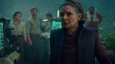 Rise of Skywalker Leia Jedi Scene: Billie Lourd Played Her Mom First Jedi, People Finder, Geek Movies, Misty Eyes, Today Latest News, Billie Lourd, Star Wars Watch, Star Wars Episode Iv, Star Wars Celebration