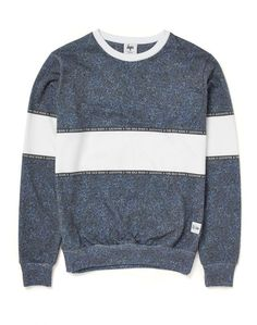 0b2f935d95 Love this: Hype X The Idle Man Midnight Speckle Chest Panel Sweat @Lyst  Online