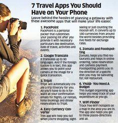 7 Travel #Apps You Should Have on Your #Phone..!! #DigitalMedia #MediaMarketingAgency