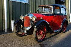 1929 Austin 7 Swallow Saloon 1930 model
