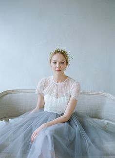 Ethereal Bridal Fashion by Alexandra Grecco  ~ we loved this lady like, ethereal style wedding dresses… so pure, so innocent... www.armadaistanbulweddings.com www.armadaistanbuldugunleri.com