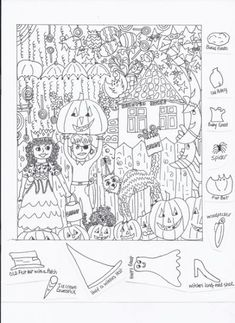free printable hidden picture - Free Printable Hidden Pictures