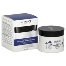 Nuance Salma Hayek Ageless Clarity Daily Resurfacing Pads -- These are miracle in a bottle -- seriously.