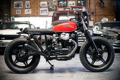 Herencia Custom Garage | This stunning 1980 CX500 scrambler was put together by Argentinian outfit HCG. From Top 5 Custom Honda CX500's via @Bike EXIF Custom Motorcycles