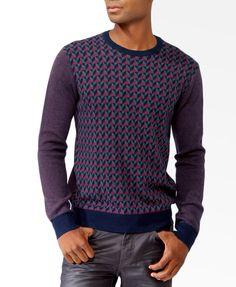 Abstract Geo Sweater | 21 MEN - 2030186131