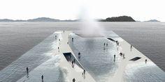 Marine Miracle – Un bâtiment qui vous permet de marcher sur l'eau
